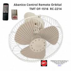 Abanico Control Remoto  Orbital TMT OF-1516 RC - 2214 │www.rt.cr