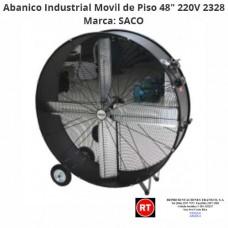"Abanico Industrial Movil de Piso 48"" SACO 220V 2328│www.rt.cr"