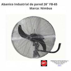 "Abanico Industrial de Pared Nimbus FB-65 26""- 2310│www.rt.cr"