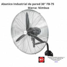 "Abanico Industrial de Pared Nimbus FB-75 de 30""-2315│www.rt.cr"