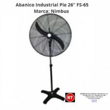 "Abanico Industrial Pie Nimbus FS 65 de 26""-2309│www.rt.cr"
