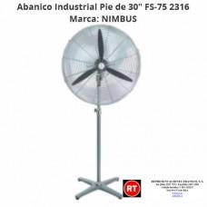 "Abanico Industrial Pie Nimbus FS-75 de 30""-2316│www.rt.cr"