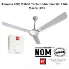 "Abanico KDK M56LG Techo Industrial 56"" 2264 │www.rt.rc"