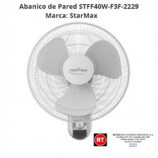 Abanico Pared StarMax STFF40W-F3F-2229│www.rt.cr