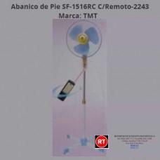 Abanico Pie TMT SF-1516RC C/Remoto-2243│www.rt.cr