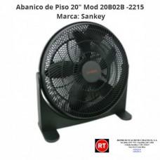 "Abanico de Piso 20"" Sankey Mod 20B02B -2215│www.rt.cr"