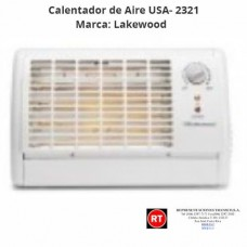 Calentador de Aire Lakewood USA- 2321│www.rt.cr