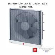"Extractor 25AUFA 10"" KDK Japan -2233│www.rt.cr"