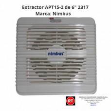 """Extractor Nimbus APT15-2 de 6"""" -2317│www.rt.cr"""