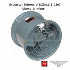 Extractor Nimbus TuboAxial DZNo.3.5-2307│www.rt.cr