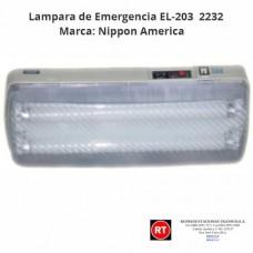 Lampara de Emergencia Nippon America EL-203 -2232│www.rt.cr